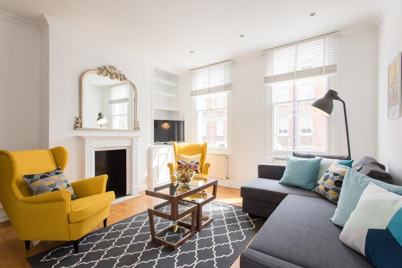 uberlondonapartments - lounge seating - Delightful 2 bedroom apartment in Marylebone - London - rentals