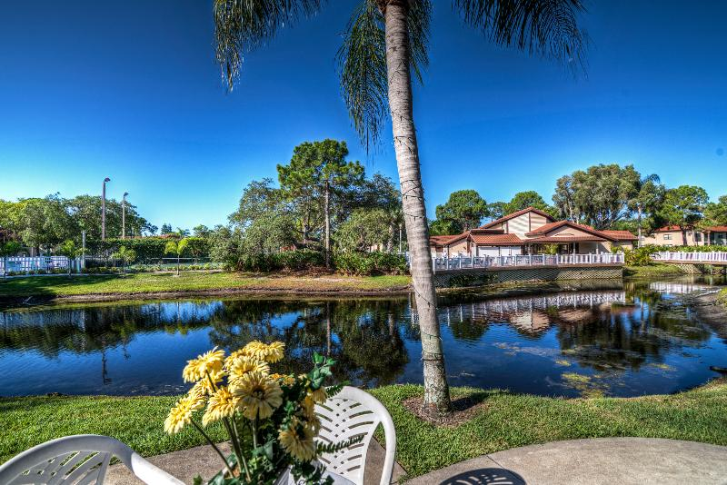 View from the terrace  - Shorewalk Condo UD near the Beaches Anna Maria Island, Longboat Key, IMG, Shops - Bradenton - rentals