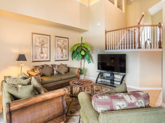 6 Bedroom Pool Home in Gated Resort. 8113SPD - Image 1 - Orlando - rentals