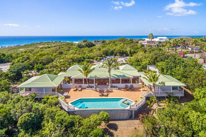 Fields of Ambrosia at Terres Basses, Saint Maarten - Ocean View, Pool, Private - Image 1 - Terres Basses - rentals