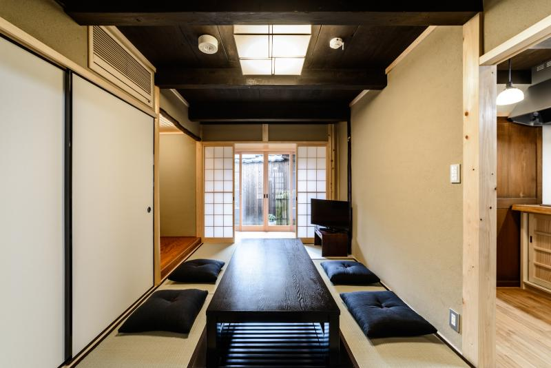 NEW! Spacious traditional house near Nijo CASTLE - Image 1 - Kyoto - rentals