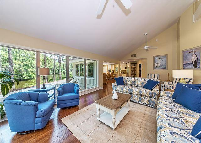 Slack Tide 6, 4 Bedrooms, Lagoon View, Pet Friendly, Sleeps 11 - Image 1 - Hilton Head - rentals