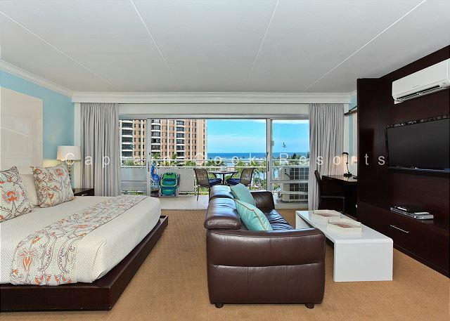 Lagoon and Ocean View!  FREE WiFi and Parking! - Image 1 - Waikiki - rentals
