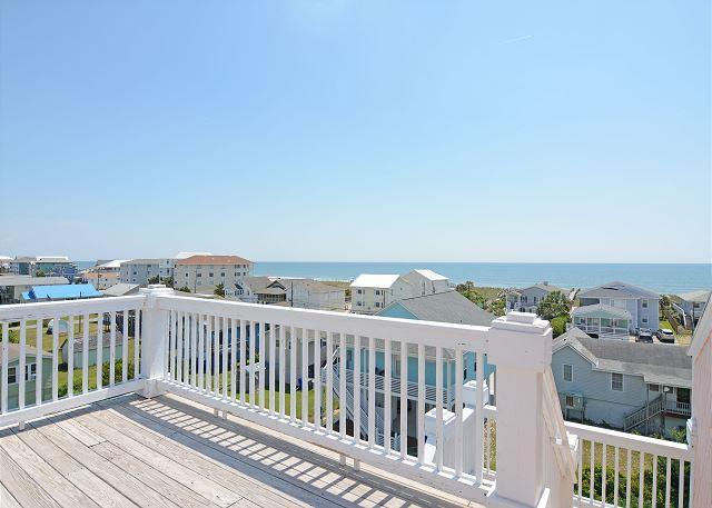 Sweet Carolina- Spacious and comfortable duplex with great ocean & sound views - Image 1 - Carolina Beach - rentals