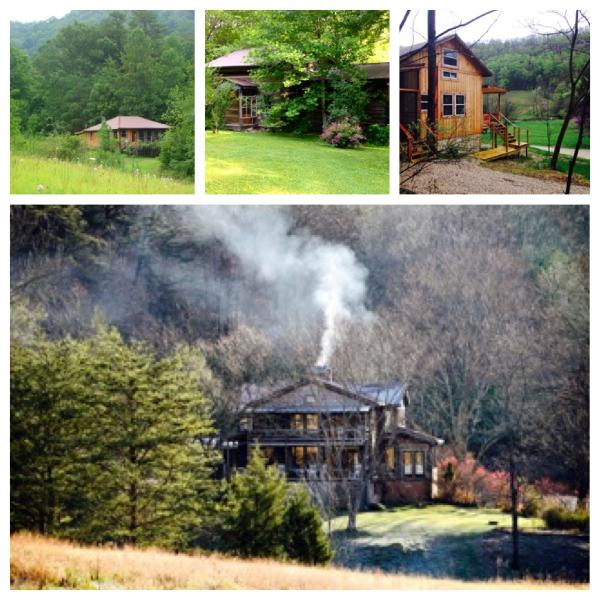 Our Farmhouse with 2 guest rooms and 3 Private Cabins. - 300 acre Mountain Retreat. 2 Rms. 3 private cabins - Irvine - rentals
