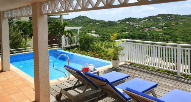 4 Bed villa with panoramic ocean views, a few minutes away from Cotton Bay beach - Image 1 - Cap Estate - rentals