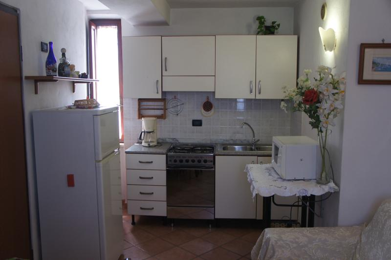 livingroom kitchen details - Apartment S.Anna holidays house Lucca free parking - Lucca - rentals
