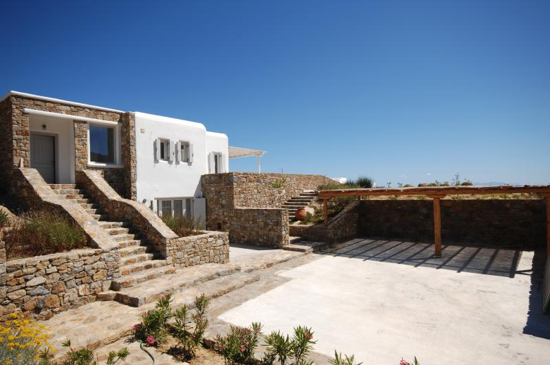 Magnificent villa on the southern coast of Mykonos - Image 1 - Elia Beach - rentals