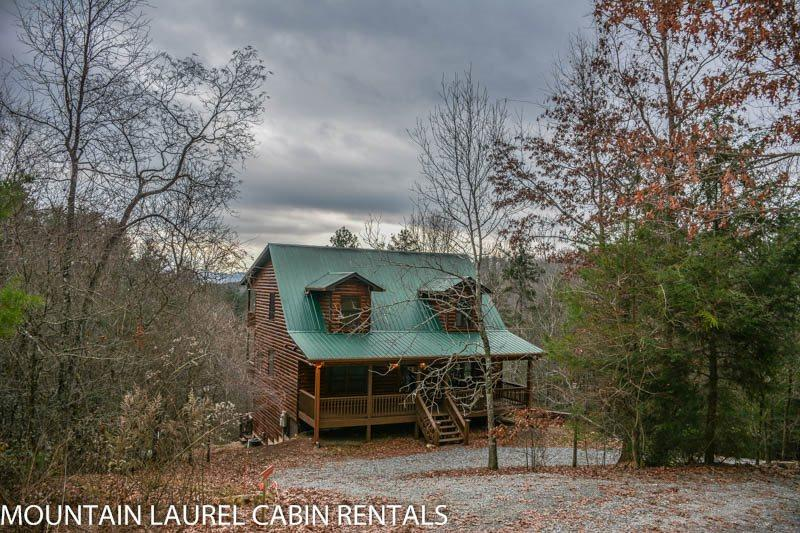 THE BOONDOCKS- 2BR/2.5BA, SLEEPS 6, KING SUITES, HOT TUB, MTN. VIEW CABIN, WIFI, GAS LOG FIREPLACE, STARTING AT $120/NIGHT! - Image 1 - Blue Ridge - rentals