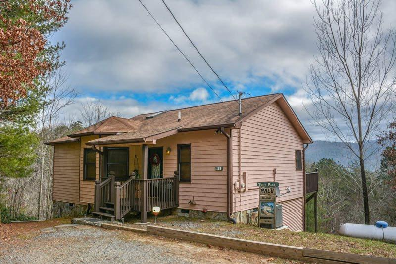 TWIN PEAKS 2/MALU- 1BR/1BA, SLEEPS 2, PERFECT FOR A COUPLES RETREAT OR HONEYMOON, EXCELLENT MOUNTAIN VIEWS, INDOOR HOT TUB, GAS GRILL, SATELLITE TV, STARTING AT $109/NIGHT! - Image 1 - Blue Ridge - rentals