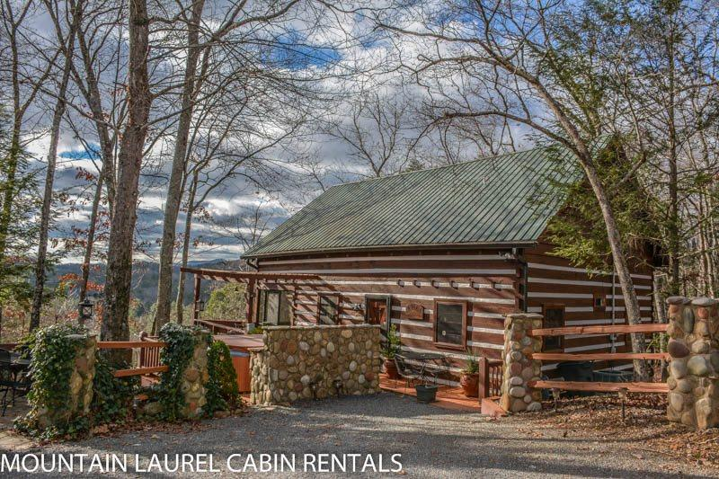 LA BIATA- 2BR/2BA- CABIN SLEEPS 8, WITH ADDITIONAL SLEEPING LOFT,BEAUTIFUL MOUNTAIN VIEW, WIFI, GAS LOG FIREPLACE, CABLE TV, HOT TUB, SCREENED PORCH, CHARCOAL GRILL! STARTING AT $115/NIGHT! - Image 1 - Blue Ridge - rentals