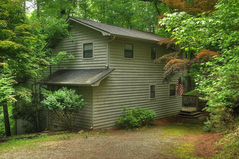 RIVERWALK- 3BR/2 BA CABIN ON THE COOSAWATTEE RIVER, SLEEPS 6, SCREENED IN PORCH, GAS GRILL, WOOD BURNING FIREPLACE, PLUS ALL THE AMENITIES OF THE COOSAWATTEE RIVER RESORT, STARTING AT $150 A NIGHT! - Image 1 - Blue Ridge - rentals