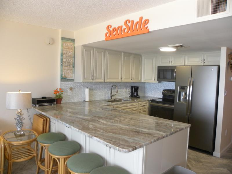 Newly renovated Kitchen - Direct Ocean Front 2 BR 2 Bath with Pool in the Irene Recently Renovated - Ocean City - rentals