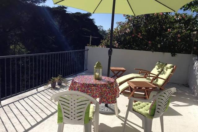 Private, sunny terrace just for you! Lovely views! - Sintra Town Centre, Small Studio with Views - Sintra - rentals