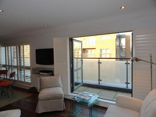 Trendy new studio apartment- Fulham - Image 1 - London - rentals