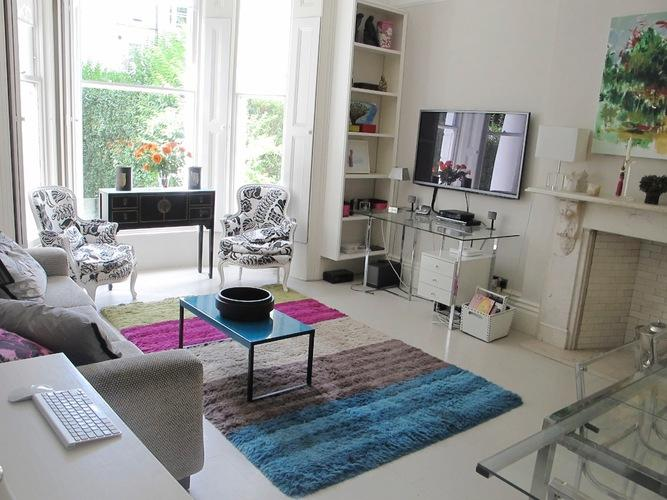 Stylish contemporary 2-bed apartment with garden access - Image 1 - London - rentals