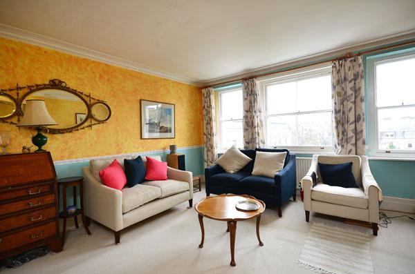 Bright and colourful typical English apartment - Kensington - Image 1 - London - rentals