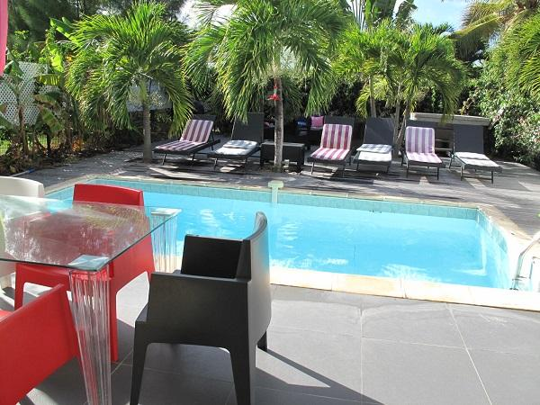 Ligne Bleue, Orient Bay, St Martin - LIGNE BLEUE 1...  Affordable villa with AC, pool, Jacuzzi, and 2 min walk to Orient beach! - Orient Bay - rentals
