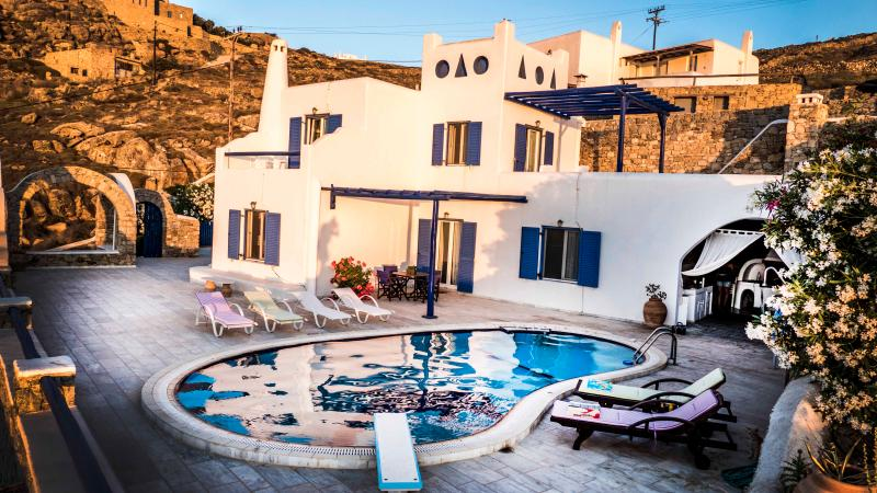 VILLA DOLFINO-with private pool#50% DISCOUNT 2016# - Image 1 - Mykonos Town - rentals