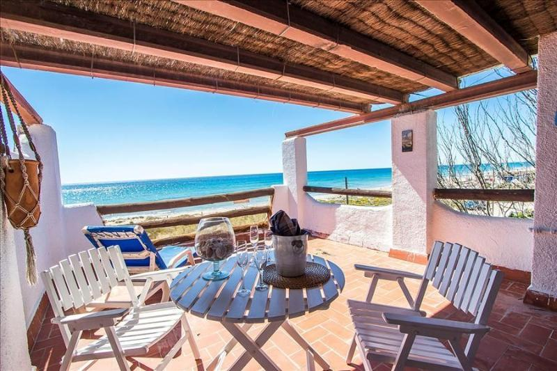 Glorious oceanfront house for 10 guests, overlooking the beaches of Costa Dorada! - Image 1 - Costa Dorada - rentals