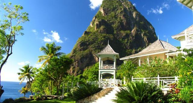Arc En Ciel - 5 Bedroom villa has amazing views out to sea and of the Pitons. - Image 1 - Saint Lucia - rentals