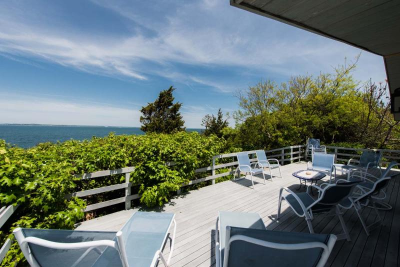 BAYLM - Spectacular Waterfront  in Makonikey,  Ocean Views and Breathtaking Sunsets, Private Beach,  Private Location - Image 1 - Vineyard Haven - rentals