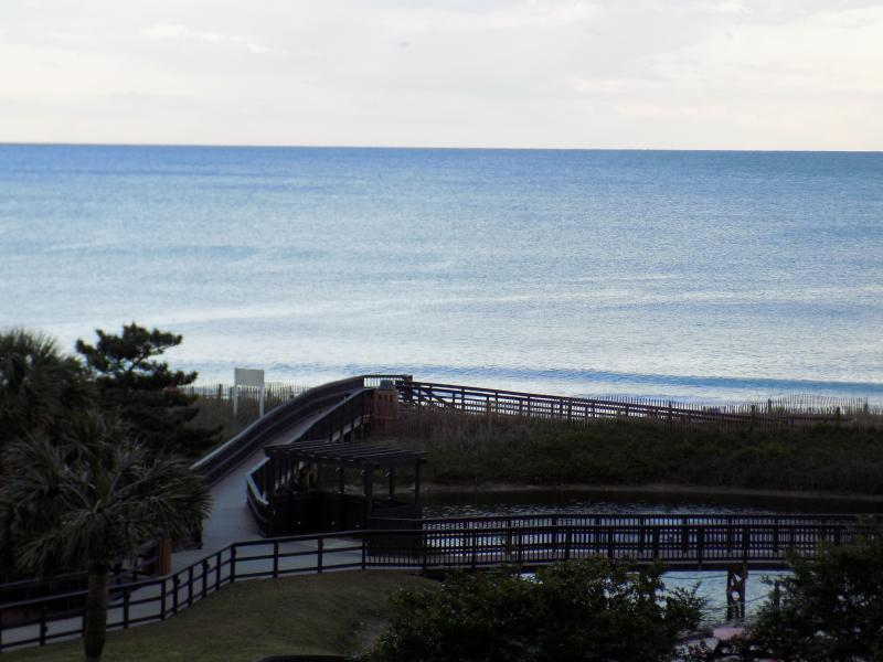 Relax on the Balcony with a Lazy Lunch or Cool Drink - BEAUTIFUL Ocean View! Family Friendly! - Myrtle Beach - rentals