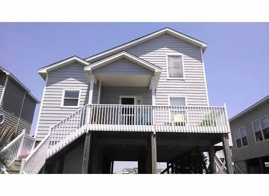 Front of house. - Great location! Kid 7/9 Week Special (10% off)! - Ocean Isle Beach - rentals