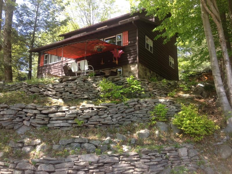 Picturesque with beautiful views! - LAKE WALLENPAUPACK W/LAKE VIEW,WOOD F/P,F/PIT,WIFI - Paupack - rentals