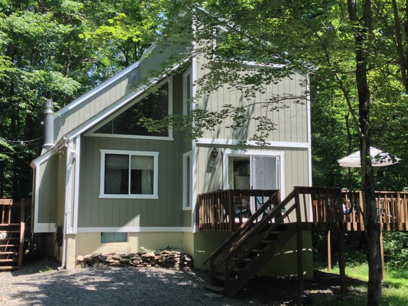 Peaceful Pocono Lake Retreat ~ Walk to Heated Pool - Image 1 - Pocono Lake - rentals