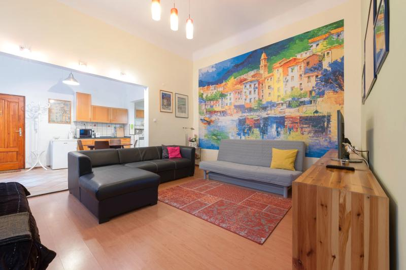 living room  - Central Apartment  Oktogon -  Metro 1 , pers.6 - Budapest - rentals