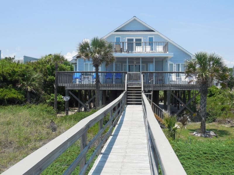 Living on the Edge - Living on the Edge - Folly Beach, SC - 4 Beds BATHS: 2 Full - Folly Beach - rentals