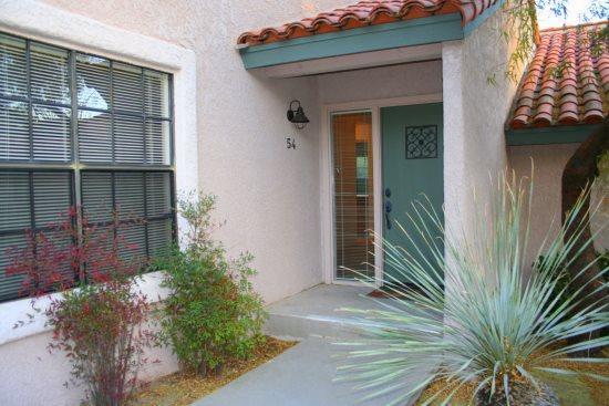 Front entrance to condo - Tierra Catalina 54 - Tucson - rentals
