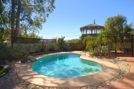 Private pool in back yard - Rancho Khaibar - Tucson - rentals