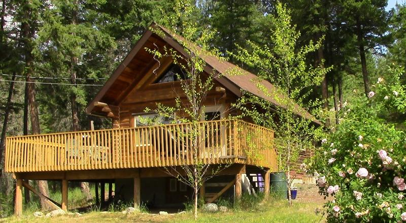 Okanagan cabin retreat & private lakeview property - Image 1 - Lake Country - rentals