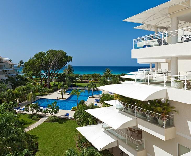 The Condominiums at Palm Beach, Apt 408, Christ Church, Barbados - Image 1 - Christ Church - rentals