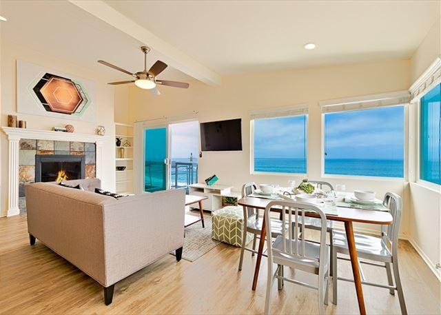 Enjoy spectacular ocean views from this newly decorated home. - 15% OFF APRIL DATES Beachfront Bliss III - Enjoy the beach and sweeping views - La Jolla - rentals