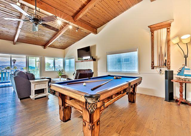 Pool table for family fun! - 25% OFF SEPT- Spectacular House - Ocean Views, Pool Table in Lantern District - Dana Point - rentals