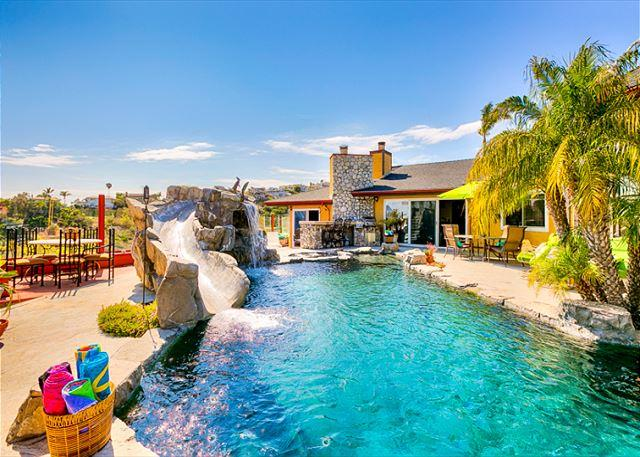 Private pool with water slide! - 20% OFF SEPT- Amazing Family House, Private Pool w/Slide, Relaxing Ocean View - San Clemente - rentals