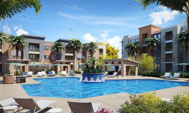 Saltwater Pool is heated year round. - Grayhawk 3 BD..1st Floor..Steps to Heated Pool. - Scottsdale - rentals