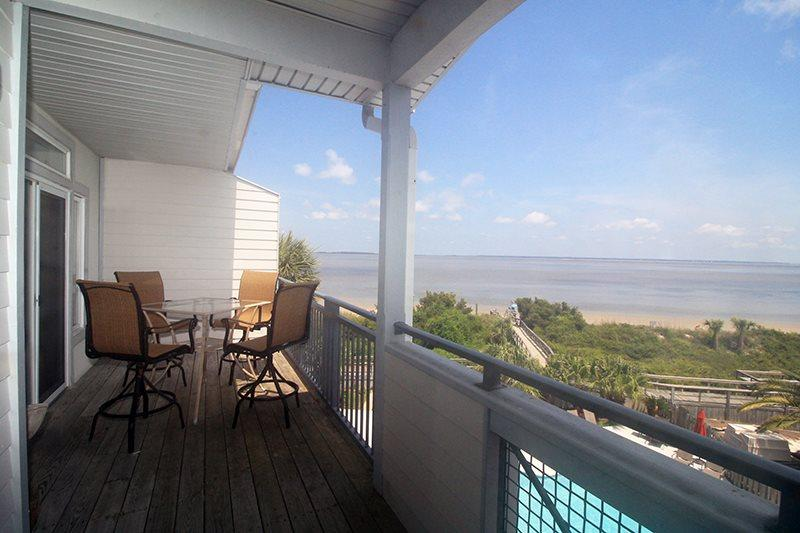 Savannah Beach & Racquet Club - Unit C303 - Water Front - Swimming Pool - Image 1 - Tybee Island - rentals