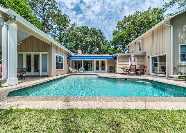 Folly Field 44-A, 3 Bedroom, Private Pool, Near Beach, Sleeps 6 - Image 1 - Palmetto Dunes - rentals