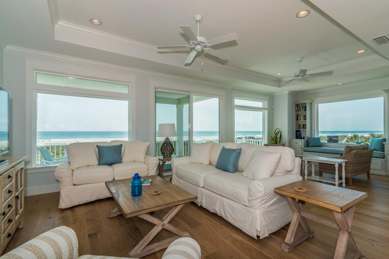 Expansive ocean views from the great room in this brand new oceanfront home! - MAJOR REDUCTION! OCT 17-24! ONLY $2195. SAVE $2300 - Saint Augustine Beach - rentals