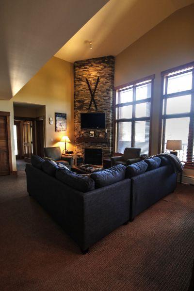 living room - - 8890 The Springs - River Run - Keystone - rentals
