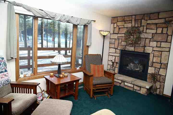 Den-Gorgeous Views/Gas Fireplace/Slider Rockers - FamilySummerFun! Christmas Mt-Pool-Gol-Family Activities-WI Dells - Wisconsin Dells - rentals