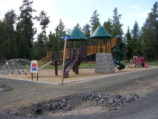 Playground and Picnic Tables - Located Around the Corner - Crane Shores Luxury Multi-Family/Large Group Home - Donnelly - rentals