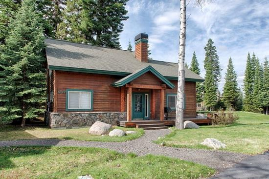 Fairway Cottage, cozy and quaint. - Fairway Cottage - Golf course frontage, Hot Tub - McCall - rentals