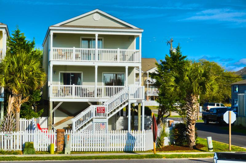 Oceanview 5BR/3BA Beach House w/Private Pool - Image 1 - Surfside Beach - rentals