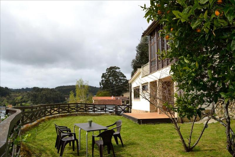 Lovely rural stone house with panoramic view - Image 1 - El Ferrol - rentals