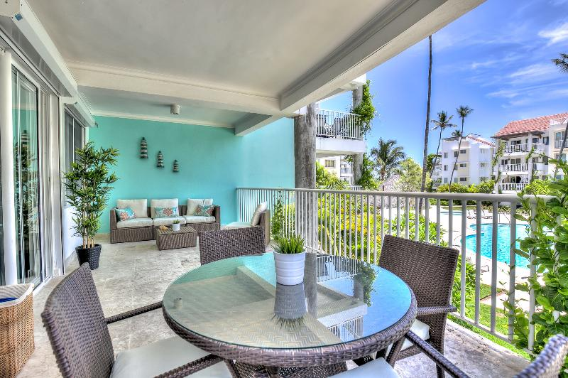 Unique 2BDR Pool View Steps Away From The Beach T-A201 - Image 1 - Bavaro - rentals